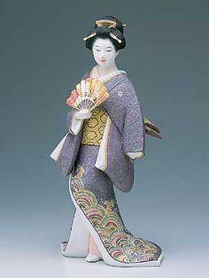 """Shou""- Hakata Geisha Doll  By Yuji Osoegawa"
