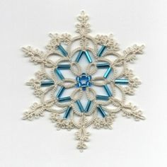 Ice Queen -  TATTING PATTERN. $3.50, via LaCossette on Etsy.