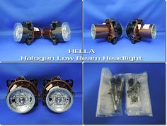 日本仕様■HELLA 90mm H7 ハロゲン ロービーム ヘッドライト_出品商品