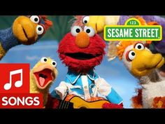 Sing along with Elmo and his duck buddies and learn about 'one less&'. For more fun games and videos for your preschooler in a safe, child-friendly environ. Baby Songs, Fun Songs, Kids Songs, Preschool Songs, Toddler Preschool, Toddler Activities, Elmo, Nursery Rhymes Lyrics, Bird Theme