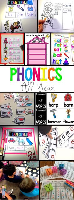 In this growing bundle, currently 894 pages, you will receive daily lesson plans and all supplemental resources to teach phonics effectively all year long. Each lesson takes approximately 15 minutes to teach. You may use the supplemental resources, assessments, activities, books, centers, games, stations, in the classroom or as homework, center/daily five work, or assessment.