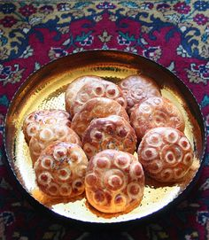 Koloocheh kooloocheh Persian cookie for Norooz recipe by Maria Dernikos for/posted by Fig & Quince (Iranian food blog)