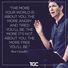 Love Matt Chandler!