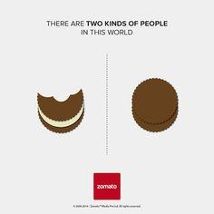 Hay dos tipos de personas en este mundo. ¿Cuál es usted?