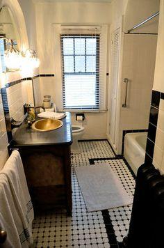 Bathroom in a house designed by Ward Wellington