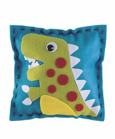 Make Your Own Dinosaur Cushion - from Evie