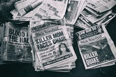 Killer News by Dave Beckerman New York Photography, Photography For Sale, Nyc Photographers, Reign, January, Death, News, Royalty