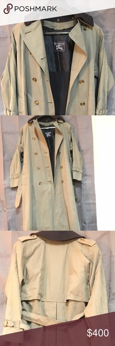 Vintage London Burberrys' Trench Coat The coat has been very well taken care of throughout the years. Has a great look and will always keep you warm and comfortable! Burberrys' Of London Jackets & Coats Trench Coats