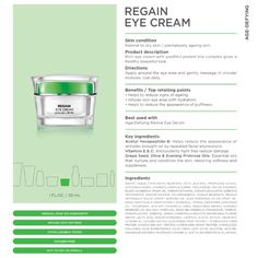 Regain eye cream ! #agedefying #seacret