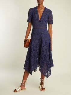 Click here to buy Zimmermann Paradiso broderie-anglaise cotton dress at MATCHESFASHION.COM