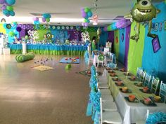 Monsters University Party.