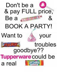 Email preview great reasons to host a tupperware party for How to be a good party host