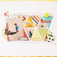 Lovely colours lovely layout design!