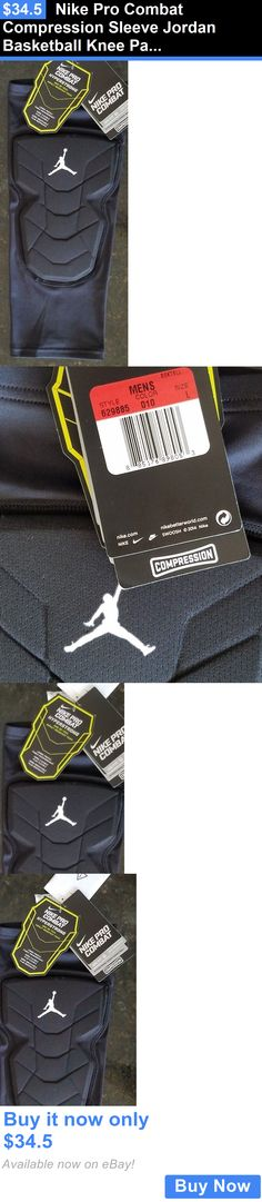 4cd845b3 Basketball: Nike Pro Combat Compression Sleeve Jordan Basketball Knee Pad  Jumpman Sz L $35 BUY