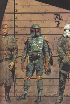 Star Wars: Boba Fett: Salvage, Vol. 1 # ½ Wizard Exclusive by by Tim Bradstreet