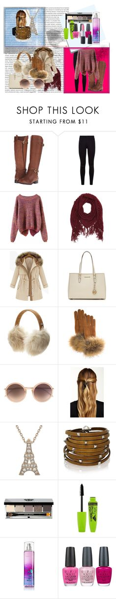 """Cute outfit for the Winter"" by manateelover42127 on Polyvore featuring Polaroid, Naturalizer, 7 For All Mankind, Charlotte Russe, MICHAEL Michael Kors, UGG Australia, White Label, FRR, Linda Farrow and Natasha Accessories"