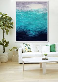 Original Painting, Abstract Art,  Abstract Painting, Beach Decor, Modern Art, Seascape, Acrylic Painting