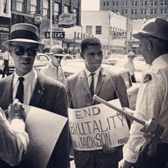 NAACP leaders Roy Wilkins & Medgar Evers was arrested in Jackson Ms on May 31. 1073 for picketing outside a Woolworth Store (3 Days AFTER a sit in at the same Woolworth). Less than 2 weeks later Mr Evers was assassinated