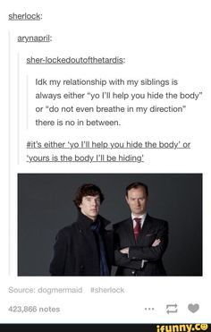 sherlock, mycroft, tumblr