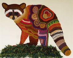 Crochet Art by Ann Benoot