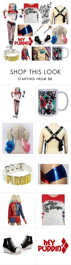 """Harley Quin"" by danbea ❤ liked on Polyvore"