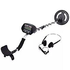 "Goplus Underground Waterproof Metal Detector 8"" Deep Sensitive Search Gold Digger Hunter W/ Headphone"
