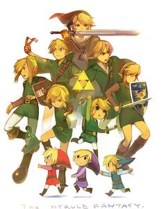 The legend of zelda series