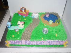 littlest pet shop birthday cake ideas - Google Search