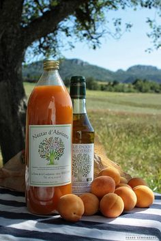 Olive oil  apricot juice, provence