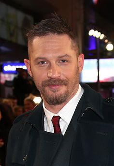 Tom Hardy at the UK Premiere of 'The Revenant' at Empire Leicester Square on January 14, 2016 in London, England.