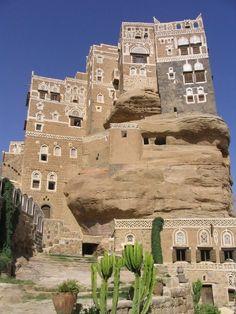 Dar al Hajar – La casa sulla roccia simbolo dello Yemen   Pictoore
