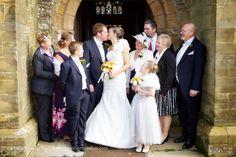 Cuckfield Church wedding ceremony. Pangdean Barn wedding captured by Sussex wedding photographer Dennison Studios Photography. Autumn wedding. Fall wedding.