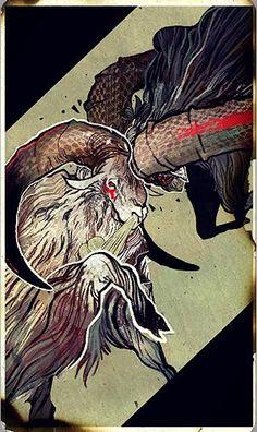 Dragon Age: Inquisition - Inquisitor tarot card - Adaar