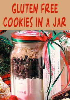 Easy Gluten Free Cookies in a Jar