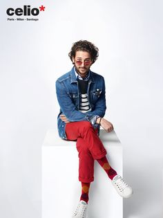 www.celio-chile.cl #outfit #menswear #celiochile Spring Summer 2015, Cl, Menswear, Outfits, Style, Fashion, Spring Summer, Canadian Horse, Swag