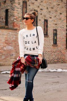 Creme de la Creme Sweatshirt | Lake Shore Lady
