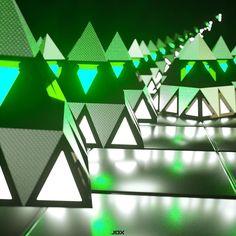 AEDA 81  | #abstract #digitalart #c4d #cinema4d #cgi #3d #3ddesign #printart #tri #pyramids #future #instaart #jdx_productions by jdx_productions