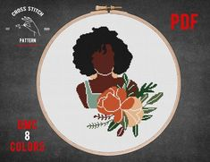 Boho woman cross stitch pattern About: Size: 104 x 131 stitches 14 Count Aida: 7.43 x 9.36 inches or 18.87 x 23.77 cm Stitches Required: Full cross stitches Colors Required: 8 DMC colors PDF Included: — color symbols on several sheets; — black and white symbols on several sheets; — color symbols Abstract Embroidery, Embroidery Designs, Cross Stitch Embroidery, Cross Stitch Patterns, Cross Stitches, Cross Stitch For Kids, Digital Pattern, Abstract Pattern, Boho