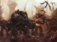 StarCraft Terran Marauder