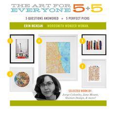 5+5 | Erin McKean. Wordsmith Wonder Woman. 5 Perfect Picks + 5 Questions Answered!