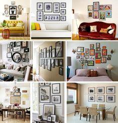 Dicas de como pendurar quadros na parede. | atelier 221B