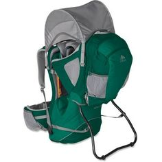 Kelty Pathfinder 3.0 Frame Child Carrier.  Best child carrier ever.  I been using this amazing carrier for Miss Presley and we absolutely love it.  Highly recommend this to all active families.