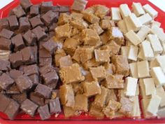 Cinnabun, Chocolate, and/or Peanut Butter Fudge! (One recipe, three flavors can be made)