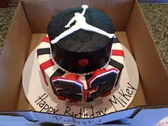 Micheal Jordan Cake