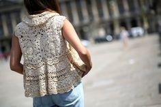 MACAREAUX cardigan / URBAN SUMMER — Stella Pardo | Site officiel #crochet #cardigan #stellapardo #bolero