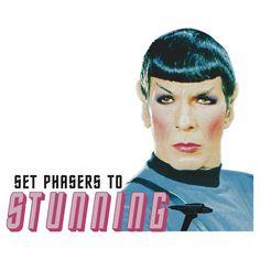 Spock is always fab.
