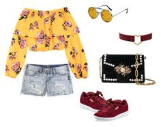 """day out look #7"" by kiwiid on Polyvore featuring Spitfire, Proenza Schouler, Silver Jeans Co. and Puma"