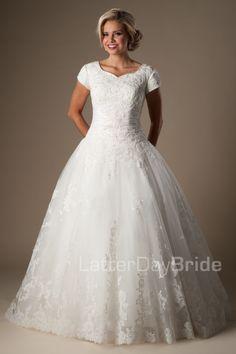 Modest Wedding Dresses : Augustina