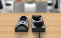 Volume - Modern DECT phone by Kay Kim, via Behance