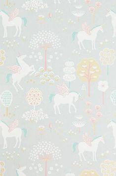 Prachtig behang van de Zweedse ontwerpster Charlotta Sandberg van het merk Majvillan. Het behang heeft een prachtig oppervlak, je kan de struktuur voelen met je